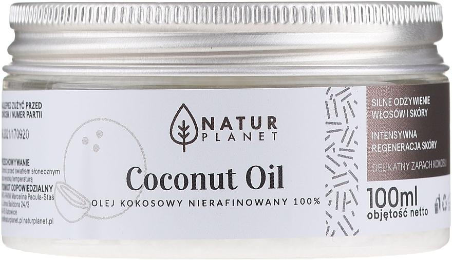100% Unraffiniertes Kokosnussöl - Natur Planet Coconut Oil