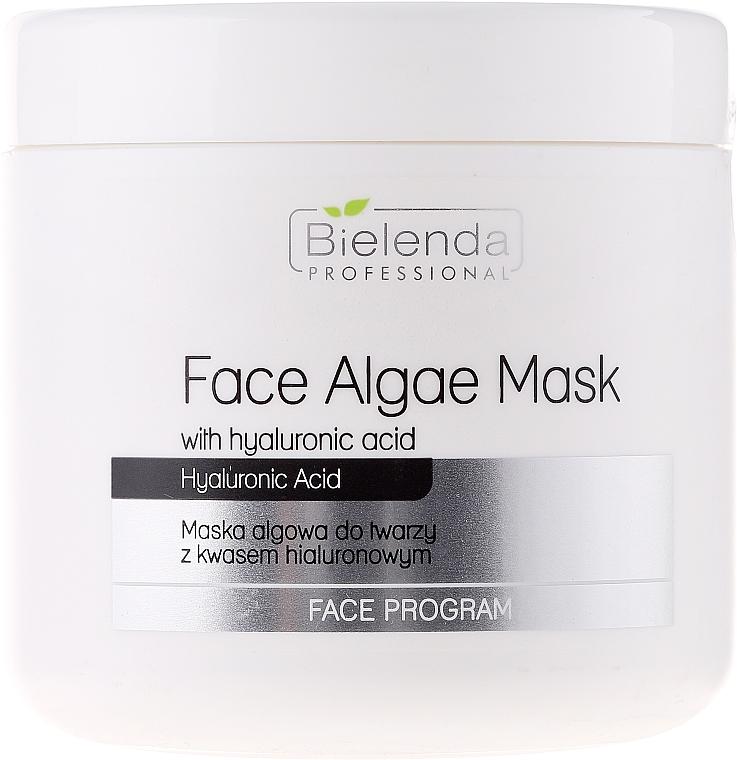 Gesichtsmaske mit Hyaluronsäure - Bielenda Professional Face Algae Mask with Hyaluronic Acid