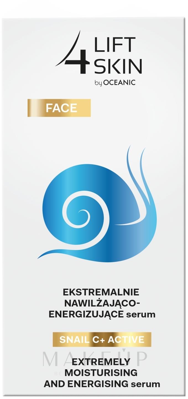 Intensiv feuchtigkeitsspendendes und glättendes Gesichtsserum - Lift4Skin Snail C+ Serum — Bild 30 ml