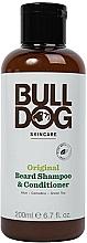 Düfte, Parfümerie und Kosmetik 2in1 Bartshampoo und Haarspülung - Bulldog Skincare Beard Shampoo and Conditioner