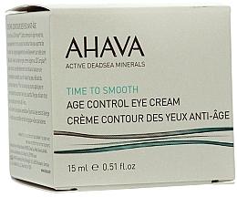 Düfte, Parfümerie und Kosmetik Verjüngende und glättende Augenkonturcreme - Ahava Age Control Eye Cream