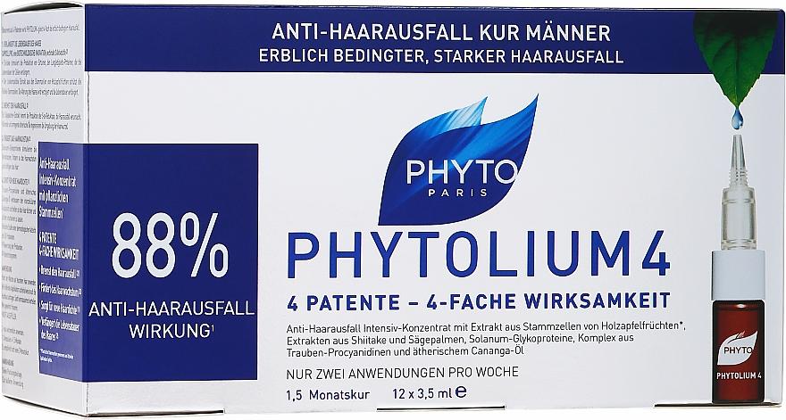 Haarkonzentrat gegen Haarausfall - Phyto 4 Phytocyane