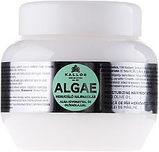 Düfte, Parfümerie und Kosmetik Haarmaske mit Algenextrakt und Olivenöl - Kallos Cosmetics Algae Mask