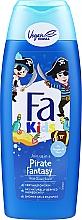 Düfte, Parfümerie und Kosmetik Duschgel und Shampoo für Jungs - Fa Kids Pirate Fantasy