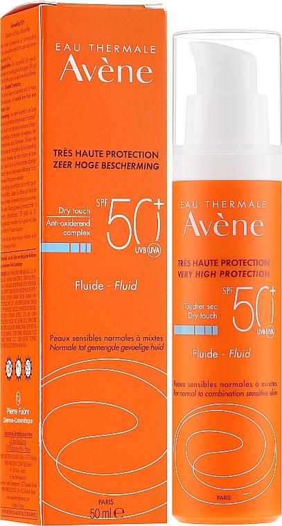 Sonnenschutzfluid für das Gesicht SPF 50+ - Avene Eau Thermale Sun Care Fluid SPF50
