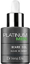 Düfte, Parfümerie und Kosmetik Bartöl - Dr Irena Eris Platinum Men Beard oil
