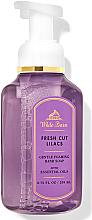 Düfte, Parfümerie und Kosmetik Schaumseife für die Hände Fresh Cut Lilacs - Bath and Body Works White Barn Fresh Cut Lilacs Gentle Foaming Hand Soap