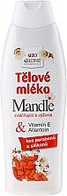 Düfte, Parfümerie und Kosmetik Pflegende Körperlotion mit Mandelöl - Bione Cosmetics Body Lotion With Allantoin and Vitamin E
