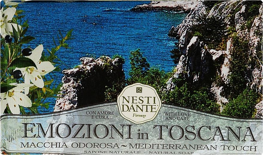 Naturseife Mediterannean Touch - Nesti Dante Natural Soap Emozioni in Toscana Collection