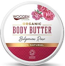 Düfte, Parfümerie und Kosmetik Bio Körperbutter Bulgarische Rose - Wooden Spoon Bulgarian Rose Body Butter