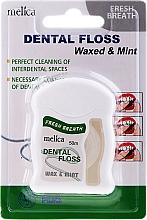 Düfte, Parfümerie und Kosmetik Zahnseide mit Minzgeschmack - Melica Organic Dental Floss Waxed & Mint