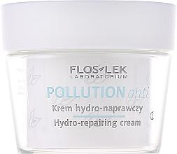 Regenerierende und feuchtigkeitsspendende Nachtcreme für das Gesicht - Floslek Pollution Anti Hydro-repairing Cream — Bild N2