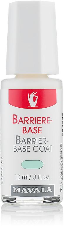 Barriere-Base für trockene, dünne und empfindliche Nägel - Mavala Barrier-Base Coat
