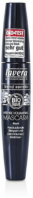 Bio Mascara für voluminöse Wimpern - Lavera Intense Volumizing Mascara — Bild N1