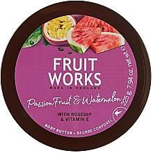 Düfte, Parfümerie und Kosmetik Körperbutter mit Passionsfrucht und Wassermelone - Grace Cole Fruit Works Body Butter