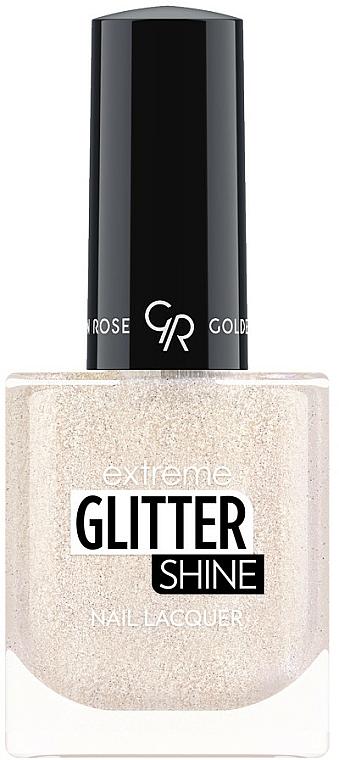 Nagellack - Golden Rose Extreme Glitter Shine Nail Lacquer