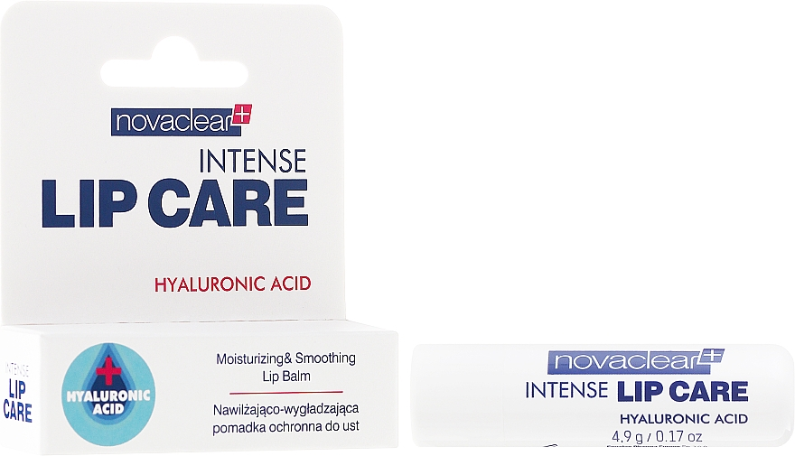 Lippenbalsam mit Hyaluronsäure - Novaclear Intense Lip Care