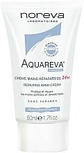 Düfte, Parfümerie und Kosmetik Reparierende Handcreme - Noreva Aquareva 24H Repairing Hand Cream