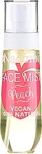 Düfte, Parfümerie und Kosmetik Gesichtsnebel mit Pfirsichduft - Nacomi Face Mist Peach