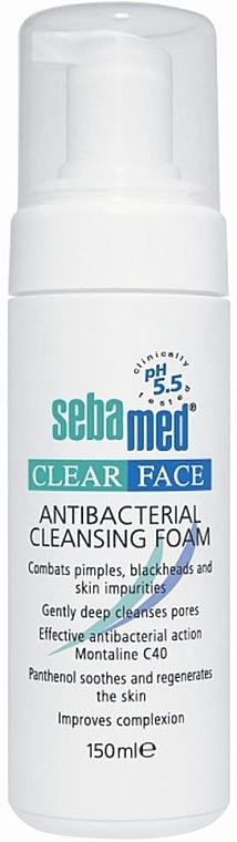 Antibakterieller Gesichtsreinigungsschaum - Sebamed Clear Face Antibacterial Cleansing Foam — Bild N1
