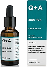 Düfte, Parfümerie und Kosmetik Gesichtsserum Zink PCA - Q+A Zinc PCA Facial Serum