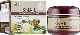Düfte, Parfümerie und Kosmetik Straffende Ampullencreme für das Gesicht mit Schneckenschleim - Ekel Ample Intensive Cream Snail