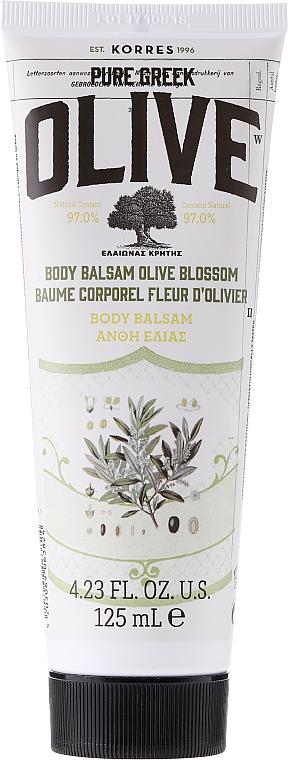 Nährende Körperbutter mit Olivenöl - Korres Pure Greek Olive Blossom Body Balsam