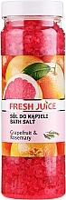 Düfte, Parfümerie und Kosmetik Badeperlen Grapefruit & Rosmarin - Fresh Juice Bath Bijou Rubin Grapefruit and Rosemary