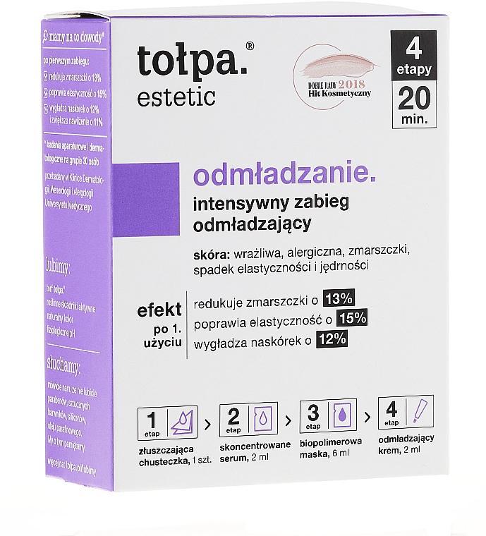 Vierstufige Gesichtsmaske für den Tag - Tolpa Estetic 4 Step Intensive Treatment Care