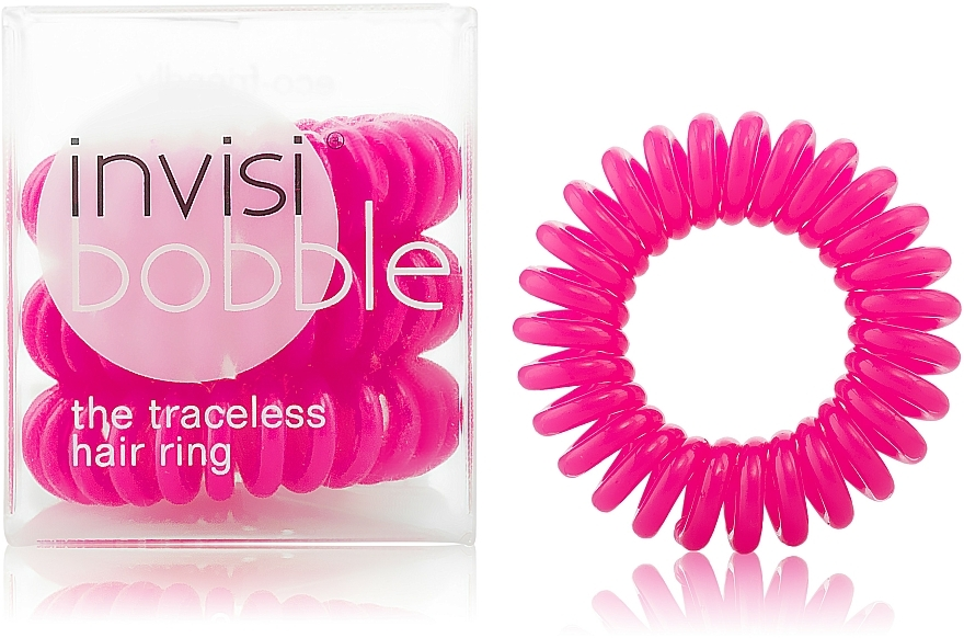 """Haargummis """"Candy Pink"""" 3 St. - Invisibobble Candy Pink"""
