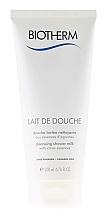 Düfte, Parfümerie und Kosmetik Reinigende Duschmilch mit ätherischen Zitrusölen - Biotherm Lait De Douche Cleansing Shower Milk