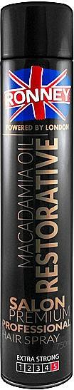 Haarlack - Ronney Macadamia Oil Restorative Hair Spray