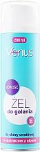 Düfte, Parfümerie und Kosmetik Rasiergel mit Aloeextrakt für Damen - Venus Aloe Vera Gel