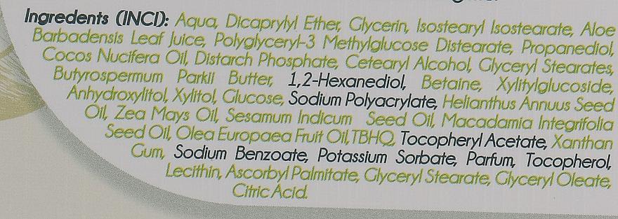 Feuchtigkeitsspendende Gesichtscreme für Tag und Nacht mit natürlichem Kokosnussöl - Delia Botanical Flow Moisturising Day & Night Cream Coconut Oil — Bild N4