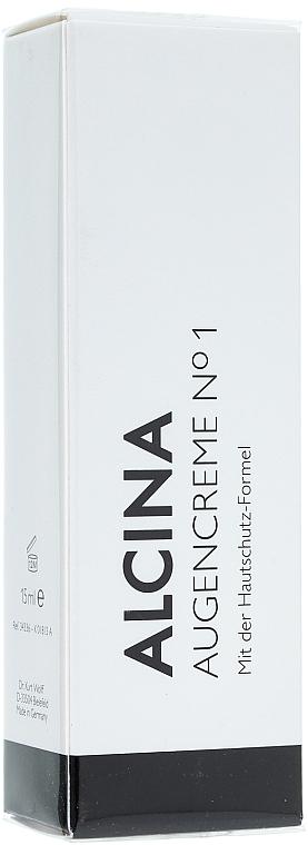Augencreme №1 mit Hautschutzformel - Alcina