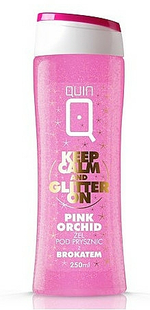 Schimmerndes Duschgel Pink Orchid - Silcare Quin Pink Orchid Shower Gel