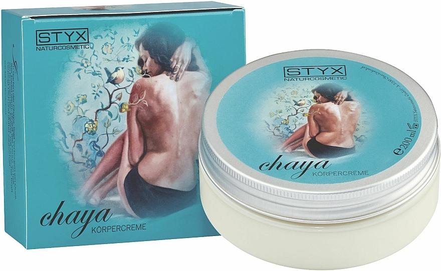 Körpercreme Chaya - Styx Naturcosmetic Chaya Body Cream