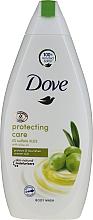 Feuchtigkeitsspendendes und pflegendes Duschgel mit Olivenöl - Dove Protect Care Body Wash — Bild N1