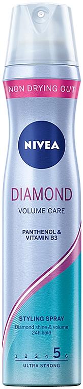 """Haarlack """"Diamond Volume"""" Ultra starker Halt - Nivea Hair Care Keratin 5"""