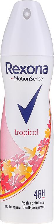 Deospray Antitranspirant - Rexona Deodorant Spray Tropical