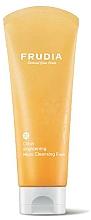 Düfte, Parfümerie und Kosmetik Erfrischender Gesichtsreinigungsschaum mit Satsuma-Extrakt und Vitamin C - Frudia Brightening Citrus Micro Cleansing Foam
