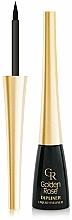 Düfte, Parfümerie und Kosmetik Eyeliner - Golden Rose Dipliner Liquid Eyeliner