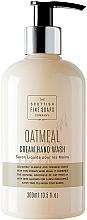 Düfte, Parfümerie und Kosmetik Flüssige Cremeseife für Hände mit natürlicher Hafermilch - Scottish Fine Soaps Oatmeal Cream Hand Wash