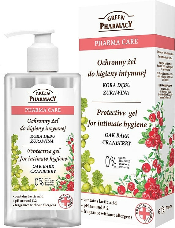 Schützendes Gel für die Intimhygiene - Green Pharmacy Protective Gel