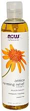 Düfte, Parfümerie und Kosmetik Wärmendes Massageöl mit Arnika-Extrakt - Now Foods Pure Arnica Warming Relief Massage Oil