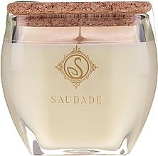 Düfte, Parfümerie und Kosmetik Duftkerze im Glas Tanne und Zeder - Essencias De Portugal Senses Saudade Pine Cedar Candle