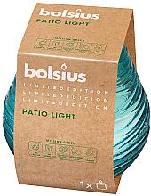 Düfte, Parfümerie und Kosmetik Duftkerze im Glas blau 94x91 mm - Bolsius