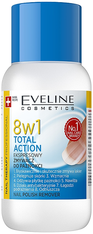 8in1 Nagellackentferner - Eveline Cosmetics Nail Therapy Professional