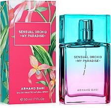 Düfte, Parfümerie und Kosmetik Armand Basi Sensual Orchid My Paradise - Eau de Toilette