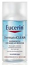 Düfte, Parfümerie und Kosmetik Augen-Make-up Entferner - Eucerin DermatoClean Waterproof Eye Make-Up Remover